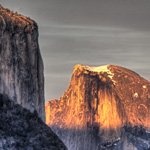 Half Dome Sunset, Yosemite