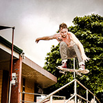 Julian Button - Stair Jump, Miramar, Costa Rica